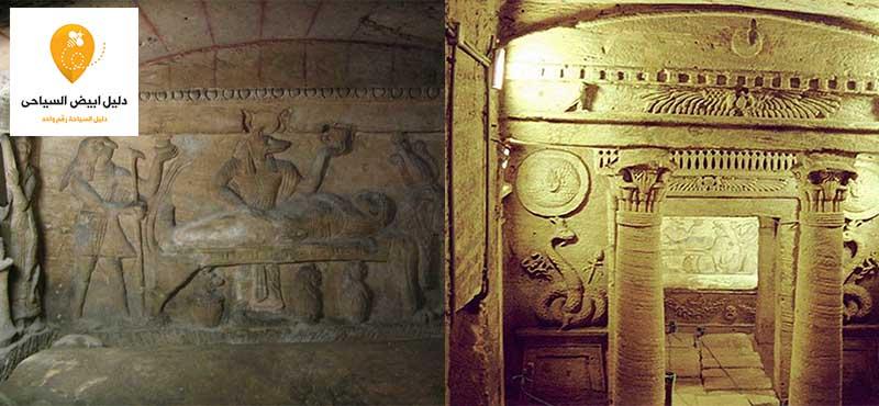مقابر كوم الشفافة الاسكندرية