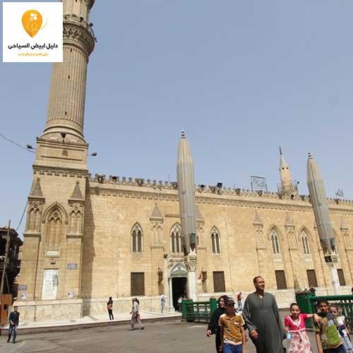مسجد الحسين بالقاهرة