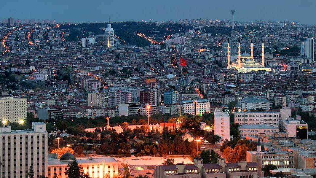 مدينة أنقرة تركيا