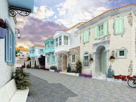 مدينة جشمة تركيا