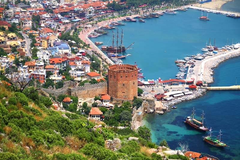 السياحة في تركيا مدينة انطاليا