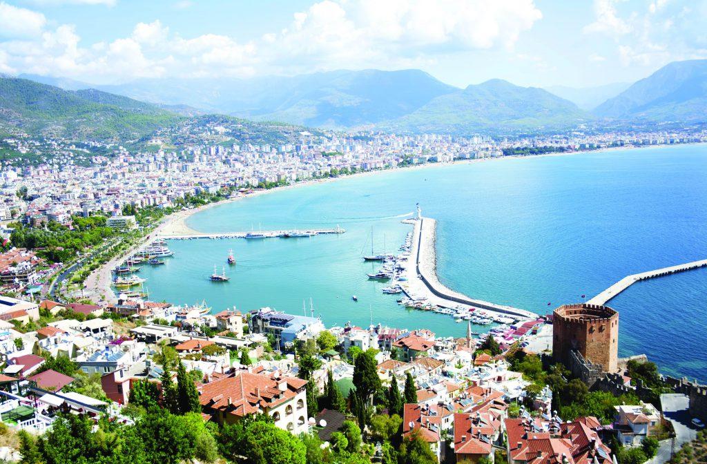 مدينة ألانيا تركيا