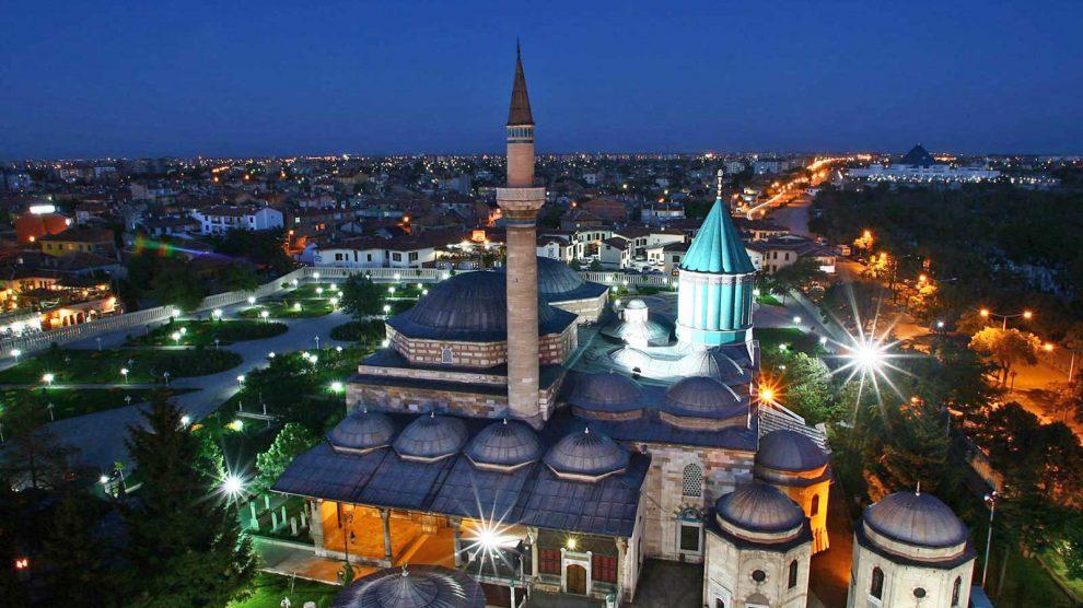 مدينة قونية بتركيا