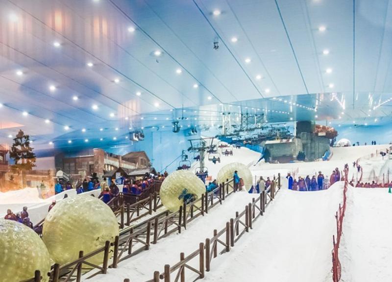 مدينة الثلج في الرياض